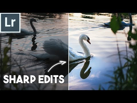 How to use the DETAIL PANEL in LIGHTROOM