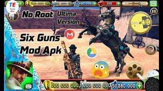 Six Guns Mod Apk | Dinero Y Estrellas Infinitas |Sin Root | Funcionando Ultima Version | APK + OBB