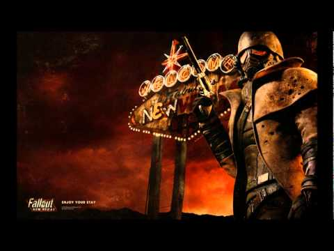 Fallout New Vegas Soundtrack - Guy Mitchell Heartaches by the Number - with lyrics
