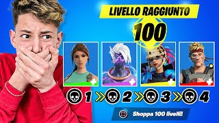 OGNI KILL del PRO PLAYER SHOPPO UN LIVELLO DEL PASS BATTAGLIA!! 😱 Fortnite
