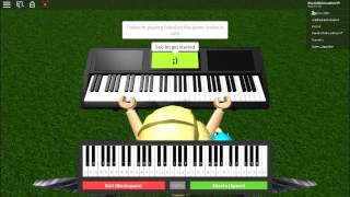 "Roblox Piano: ""Faded"" Von:Alan Walker"