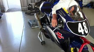 My Race bike 08 Yamaha YZ250F (Moto3)