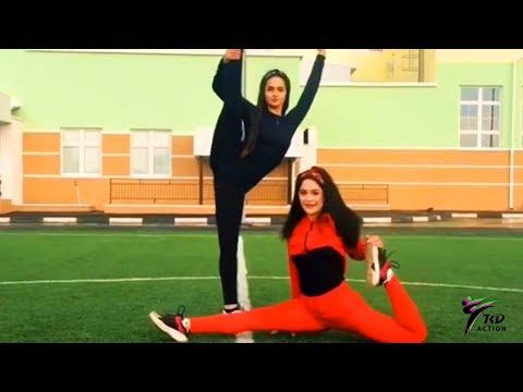 AMAZING Martial Arts GIRL - AKULA | TKD ACTION