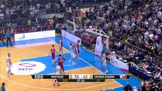 ABA Liga 2014/15, Semi-finals Round 4 match: Partizan NIS - Crvena zvezda Telekom (19.4.2015)