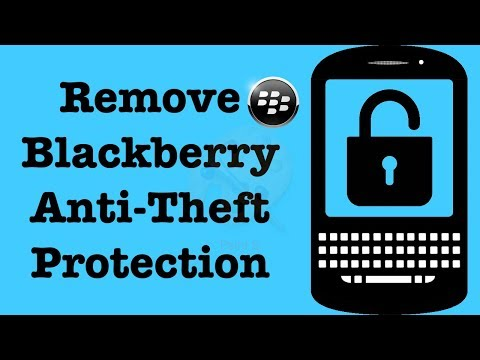 Remove Anti Theft Protection From A Blackberry Device   How To Remove Blackberry Lock   NexTutorial