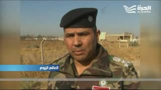 القوات العراقية تواصل تطهير منطقة حمام العليل