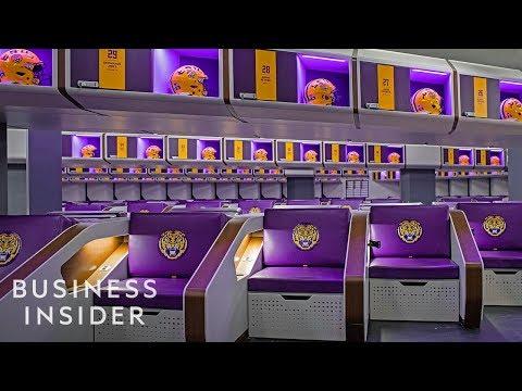 Inside LSU's $28 Million Football Building