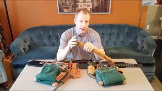 Professional Carpenter Tools, Part One, The Nail Bags