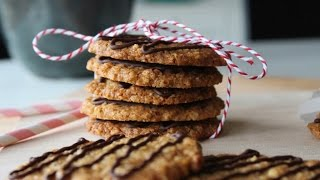 How To Make Oatmeal Cookies With Almonds And Vanilla - By One Kitchen Episode 47