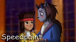 Ko x Tko Bella y Bestia - Speedpaint