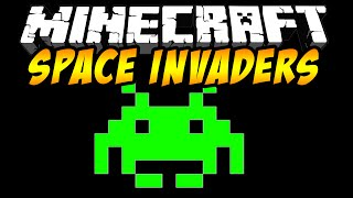 Minecraft : Space Invaders