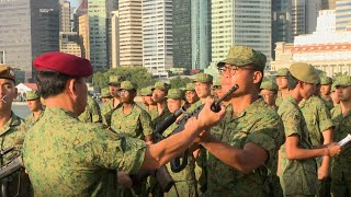 Total Defence Day 2020: Weapon Presentation Ceremony