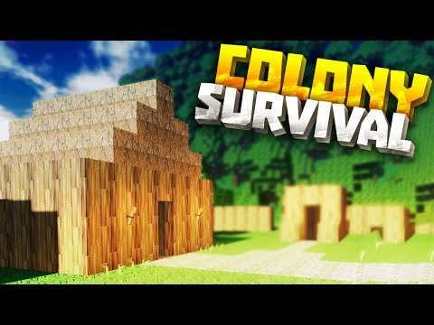 CITY BUILDING & MINING TOWN - Colony Survival PC Gameplay Part 4 - New Survival Minecraft Clone