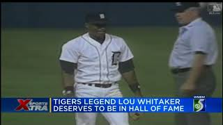 Lou Whitaker deserves to be in Baseball Hall of Fame