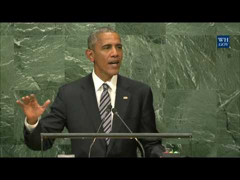 Is The Biggest Sign Of Twenty-First Century Globalization; People Want Their Information Instantly. - President Obama Speaks at the General Assembly