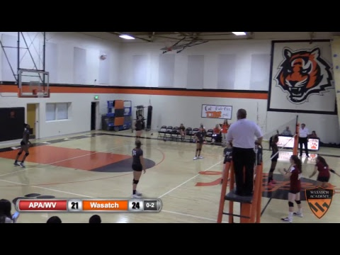 Girls Volleyball: APA West Valley vs. Wasatch Academy