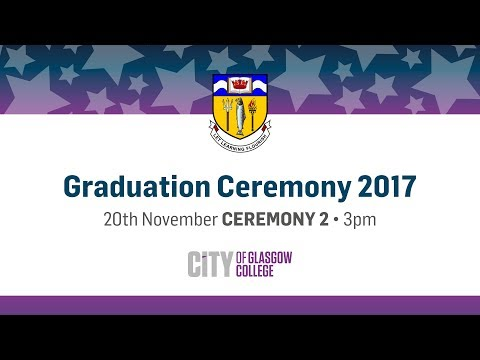 Winter Graduation Live - 20th November 2017 - Glasgow Royal Concert Hall
