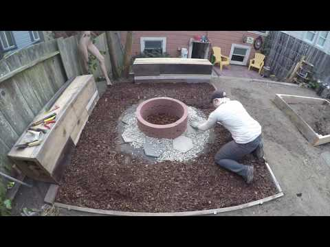 DIY Backyard Makeover Timelapse – 2 years in 9 minutes