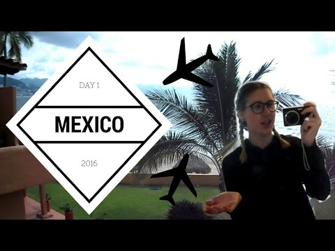 MEXICO VLOG: DAY 1- TRAVEL & ROOM TOUR | CaylensLife