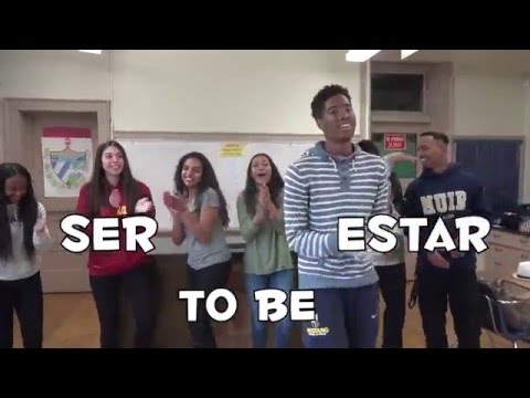 Spanish Song for 'Ser' and 'Estar' uses and conjugation in the Present tense