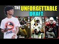 THE UNFORGETTABLE DRAFT! PLAYERS WITH THE MOST UNFORGETTABLE MOMENTS IN EVERY ROUND! Madden 17 DC