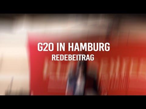 G20 in Hamburg? .. von Wut zu Widerstand! - Redebeitrag