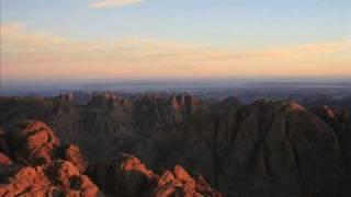 Moses Mountain Sinai, Egypt
