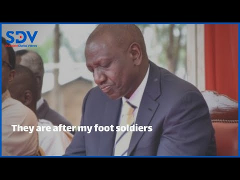 They are intimidating and sacking anyone supporting me - DP Ruto