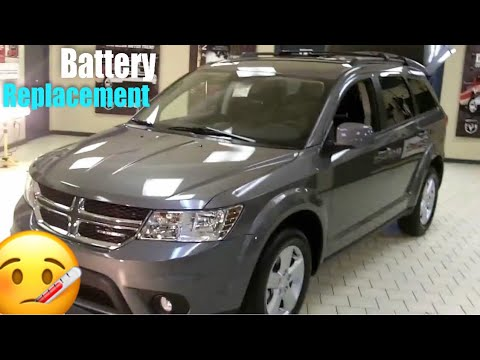 How to replace the battery on a 2014 Dodge Journey