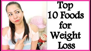 Top 10 Foods for Weight Loss | Low Calorie Fruits and Vegetables For Healthy Weight Loss