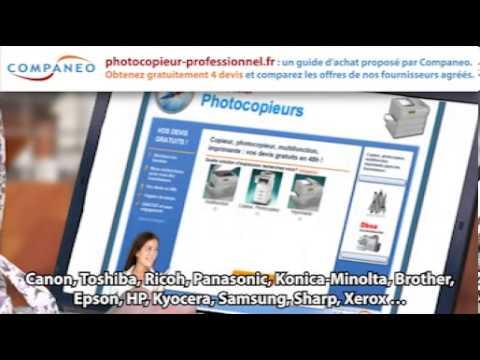 Photocopieur Professionnel Guide Comparateur Youtube