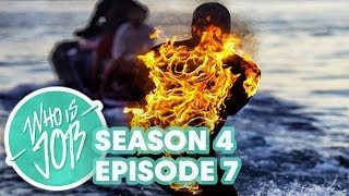 Surfing Giant Barrels at Teahupoo on Fire Who is JOB 5.0 S4E7