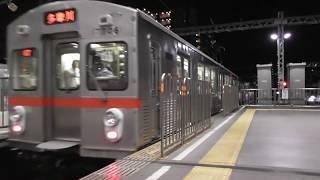 東急7700系蒲田出発動画