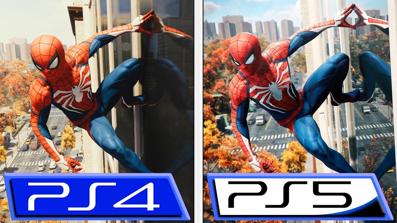 Spider-Man | As principais diferenças do jogo do PS4 para o PS5