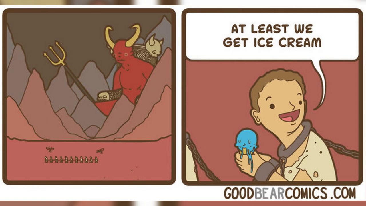 brutally hilarious good bear comics for people who like dark humor