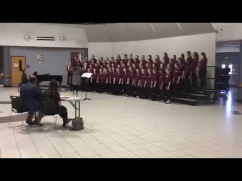 Chesterton Middle School Choir Girls Choir ISSMA 2018