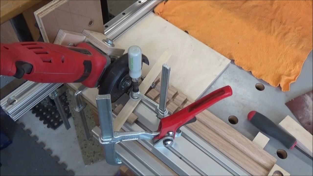 Angle Grinder Cutoff Jig Youtube
