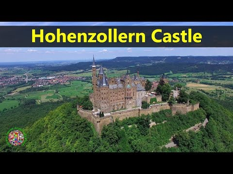 Best Tourist Attractions Places To Travel In Germany | Hohenzollern Castle Destination Spot