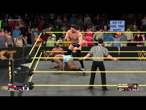 Managers behaving badly in WWE2K16