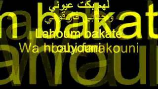 Cheb Mami - Yahamami (paroles AR + FR) by SALIM. B