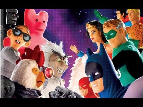 Robot Chicken DC Comics Special Review
