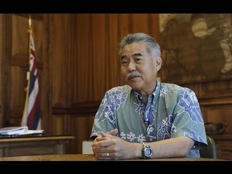 Governor Ige's plans for Hawaii's energy future (Full interview)