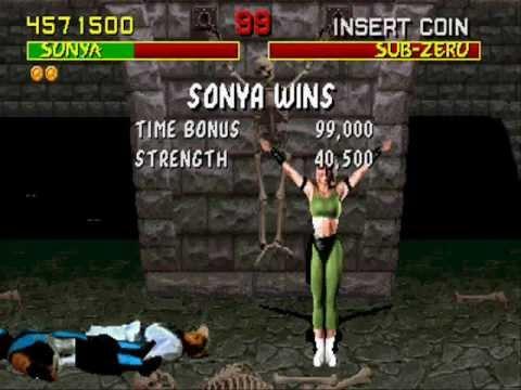 Mortal Kombat Rev 5 0 Play as Sonya Blade - YouTube
