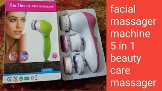 Online Facial massager machine  use step by step