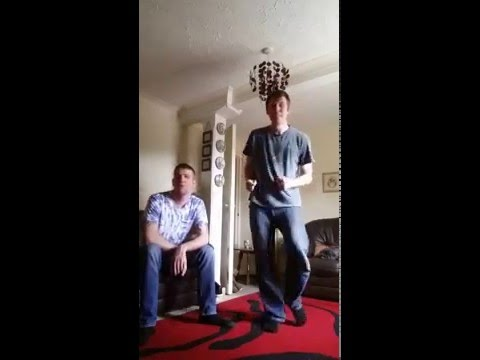 Mark Ronsen uptown funk cover karaoke Hiccup