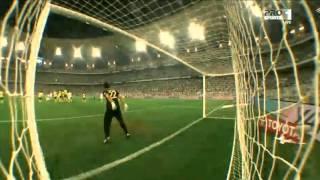 Al Somah Great Free Kick ~ Al Ahli SC 2 - 1 Al-Nasr 18.10.2014