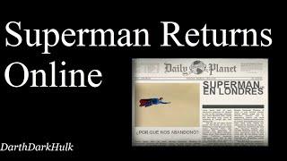 Superman Returns Online (Gameplay sin Comentar).- DarthDarkHulk