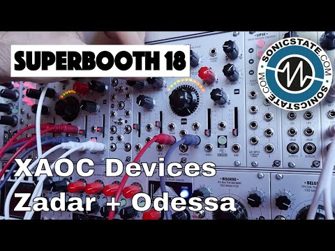 Superbooth 2018: XAOC Devices Odessa & Zadar - Mad Additive Oscillator & Quad Envelope