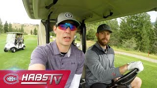 Habs reunion | Price, Weber, Gallagher, Gionta, Gorges and Armstrong hit the links