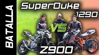 SUPERDUKE 1290 VS Z900   BATALLA A MUERTE   DRAG RACE  #FULLGASS